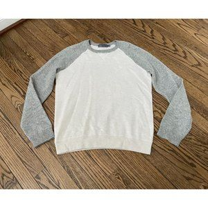 VINCE. Mens Wool Cashmere Colorblock Pullover - Si
